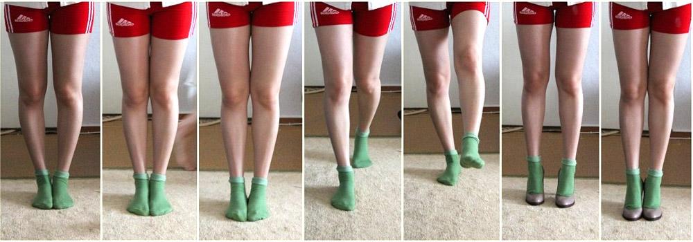 Как сделать цвет ног
