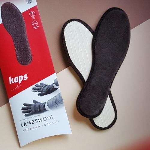 Зимние стельки для обуви Kaps Lambswool