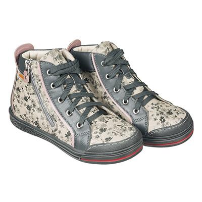 Memo New York 1BE Сірі - Ортопедичні кросівки для дівчаток (р.26-38) - Urban Classic