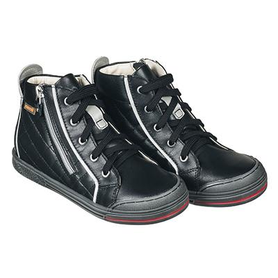 Memo New York 3LA Чорні - Ортопедичні кросівки для дітей (р.26-38) - Urban Classic