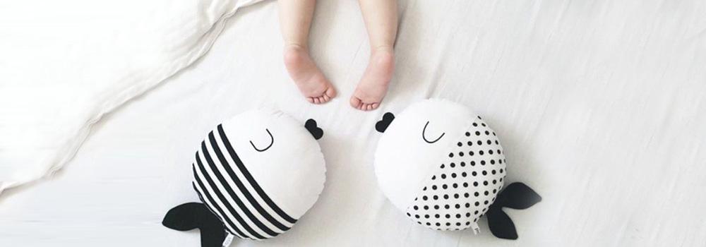 Готовим малыша ко сну. Ортопедические подушки - Babyfoot