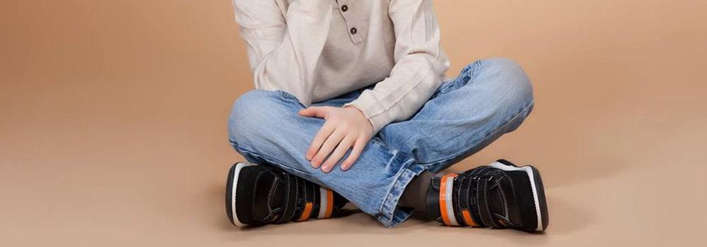 Детские ортопедические кроссовки Memo Polo