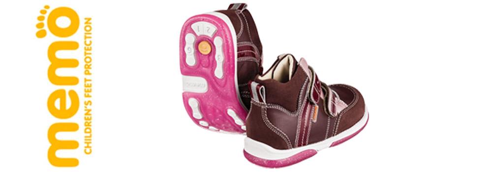 Ортопедические кроссовки бренда Memo Babyfoot