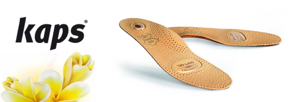 Ортопедичні устілки і пристосування для стоп бренду Kaps Babyfoot