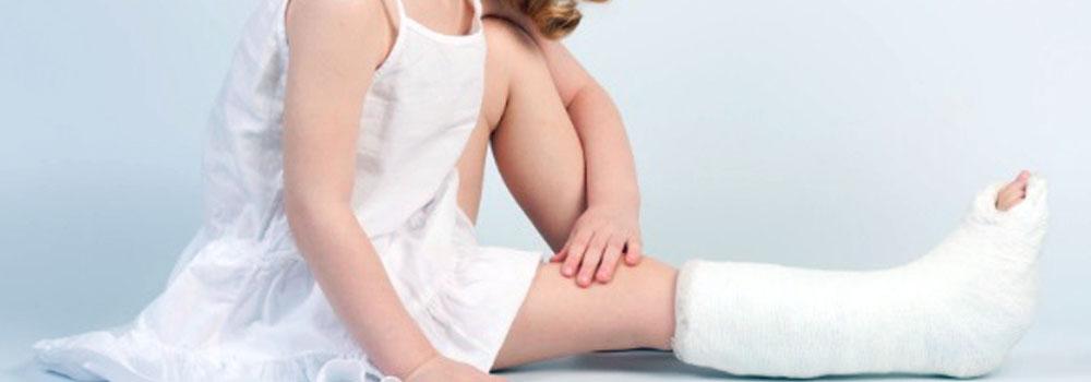 Переломи і вивихи кісток у дітей молодшого віку Babyfoot