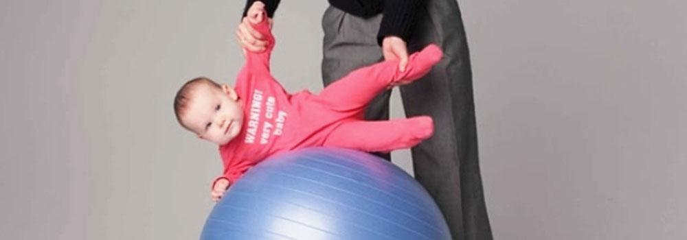 Фізичний розвиток Вашої дитини. Заняття з фітболом Babyfoot