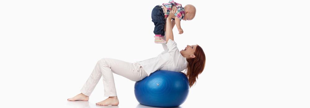 Фітбол для грудничка: основні моменти Babyfoot