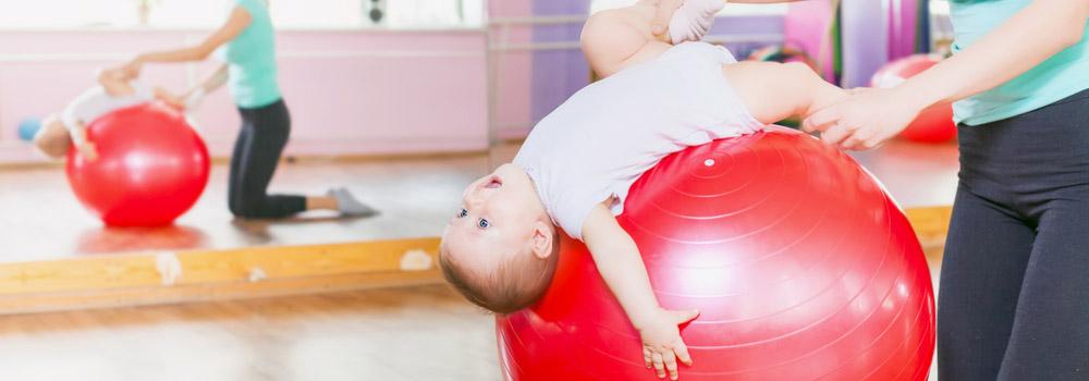 Фітбол для новонародженого Babyfoot