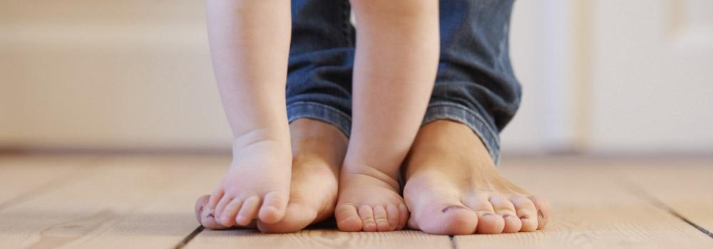 Ходіння босоніж разом з дитиною Babyfoot
