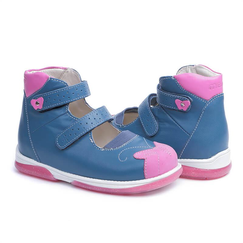 63844f2de1aca9 Купить Memo Princessa 3DA Синие Ортопедические туфли для девочек (р ...