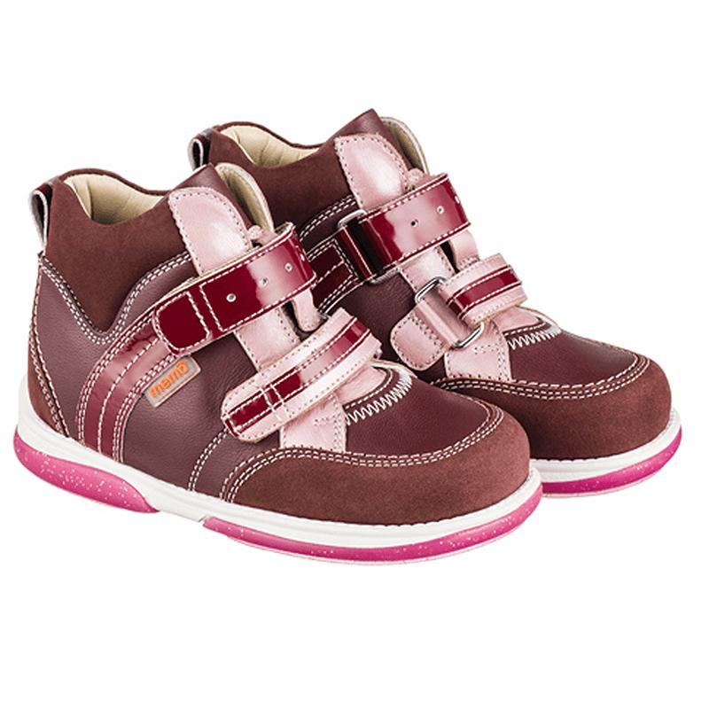 Купити Memo Polo Junior 3HC Бордові Ортопедичні кросівки для дітей ... c2a9bdb18fc4a