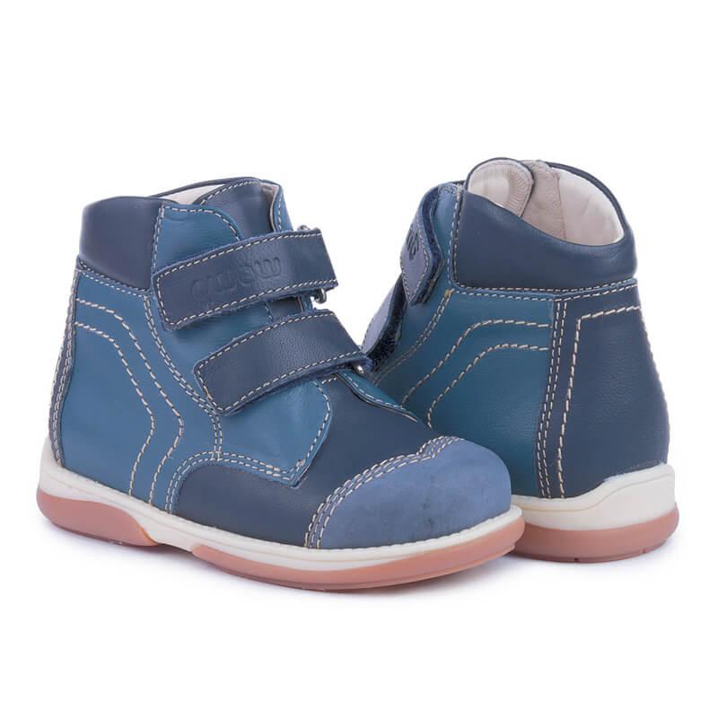 661baf76340176 Купить Memo Karat 3DA Синие Детские ортопедические демисезонные ...