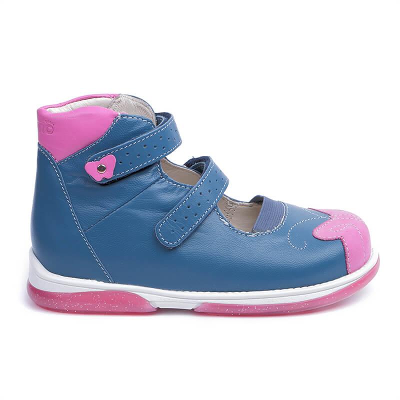 932ff47b39b6df Ортопедические туфли для детей Memo Princessa Синие Ортопедические туфли  для детей MEMO Princessa Синие ...