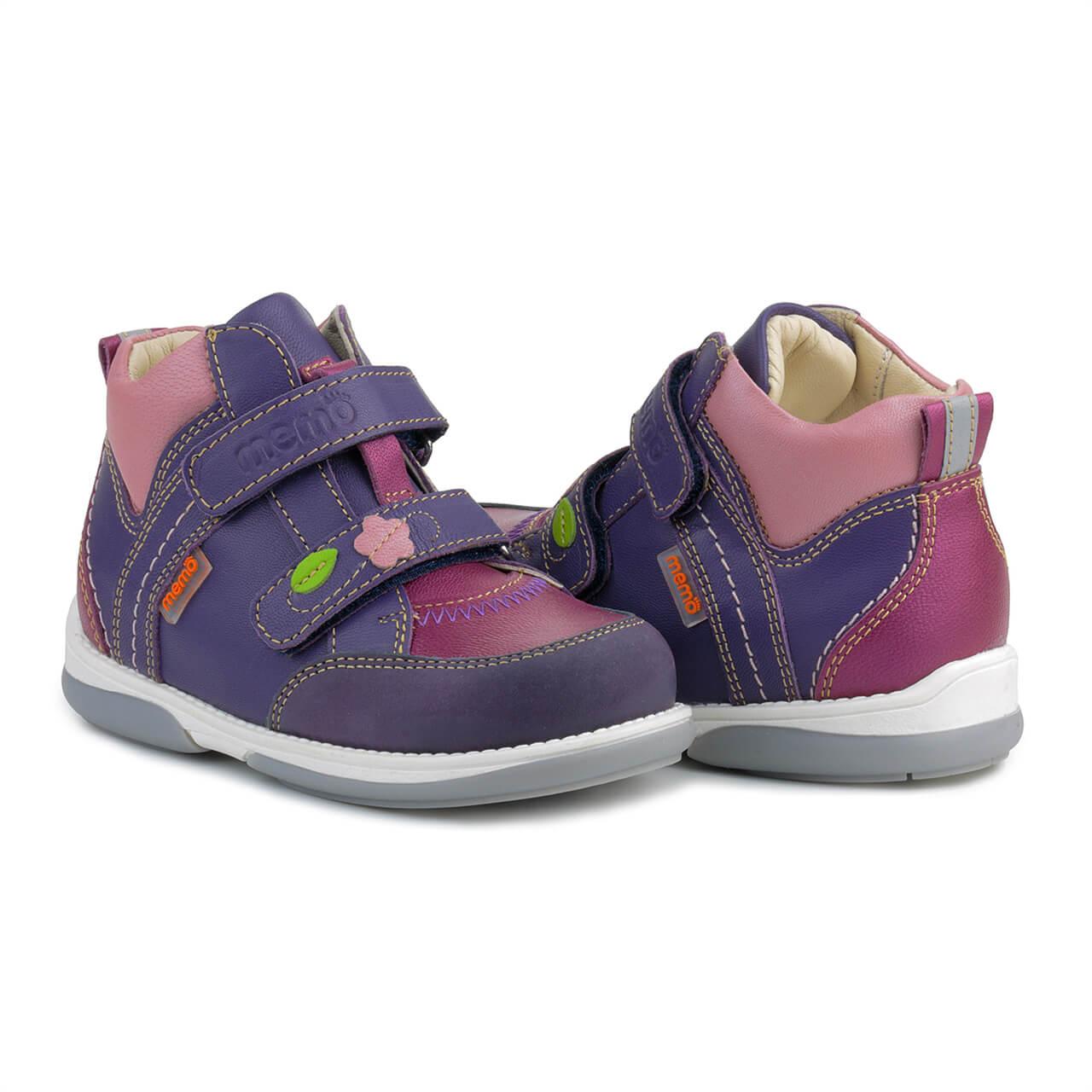 Memo Polo Junior 3JE Фіолетові Ортопедичні кросівки для дітей (р.22-31) ... 20594ed341513