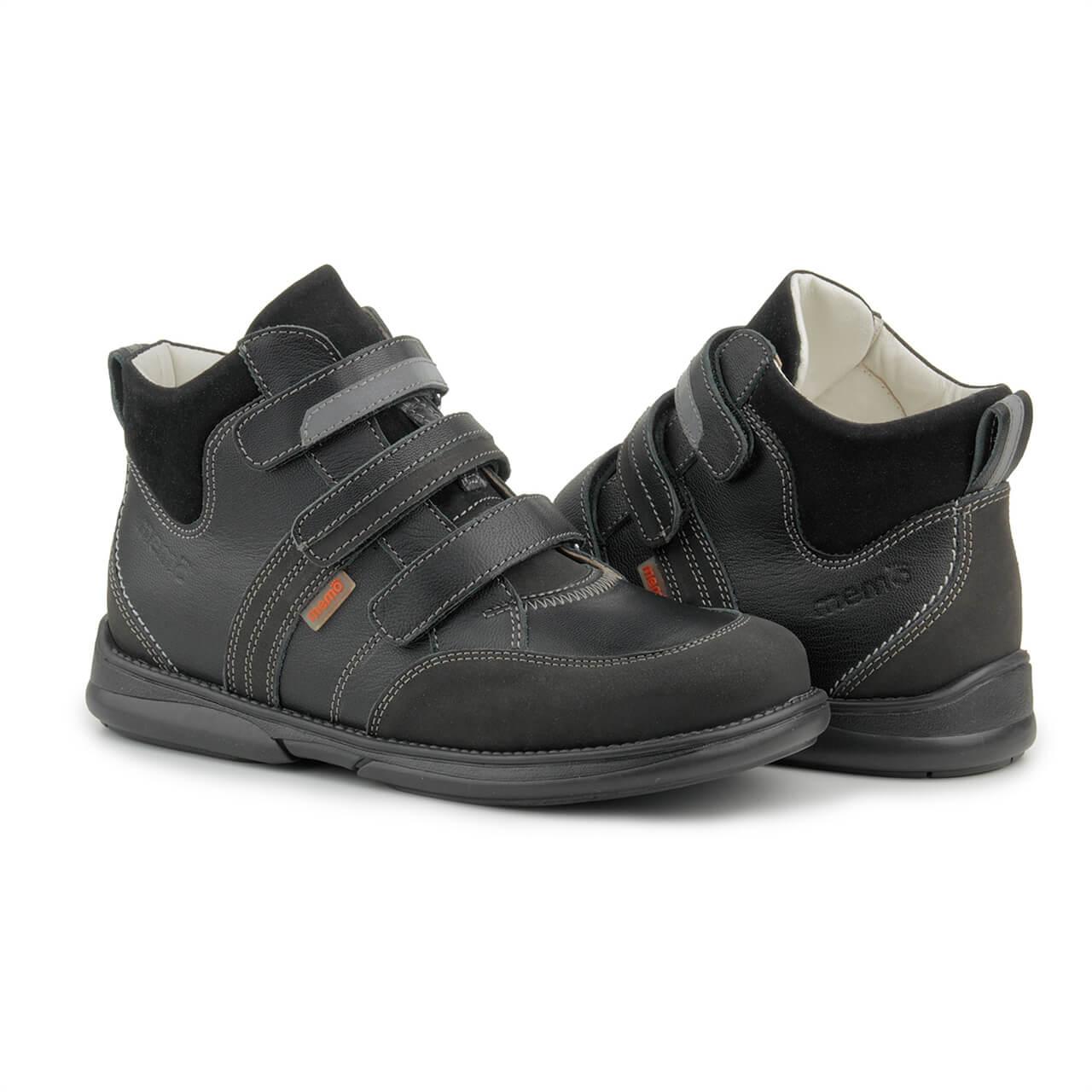 Купити Memo Polo 3LY Чорні Ортопедичні кросівки для дітей (р. 22-38) f1c2f864ec1f5