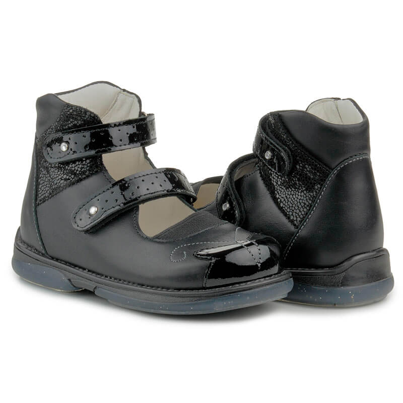 Купити Memo Princessa 3LY Чорні Ортопедичні туфлі для дівчаток (р ... 9f012ea271258