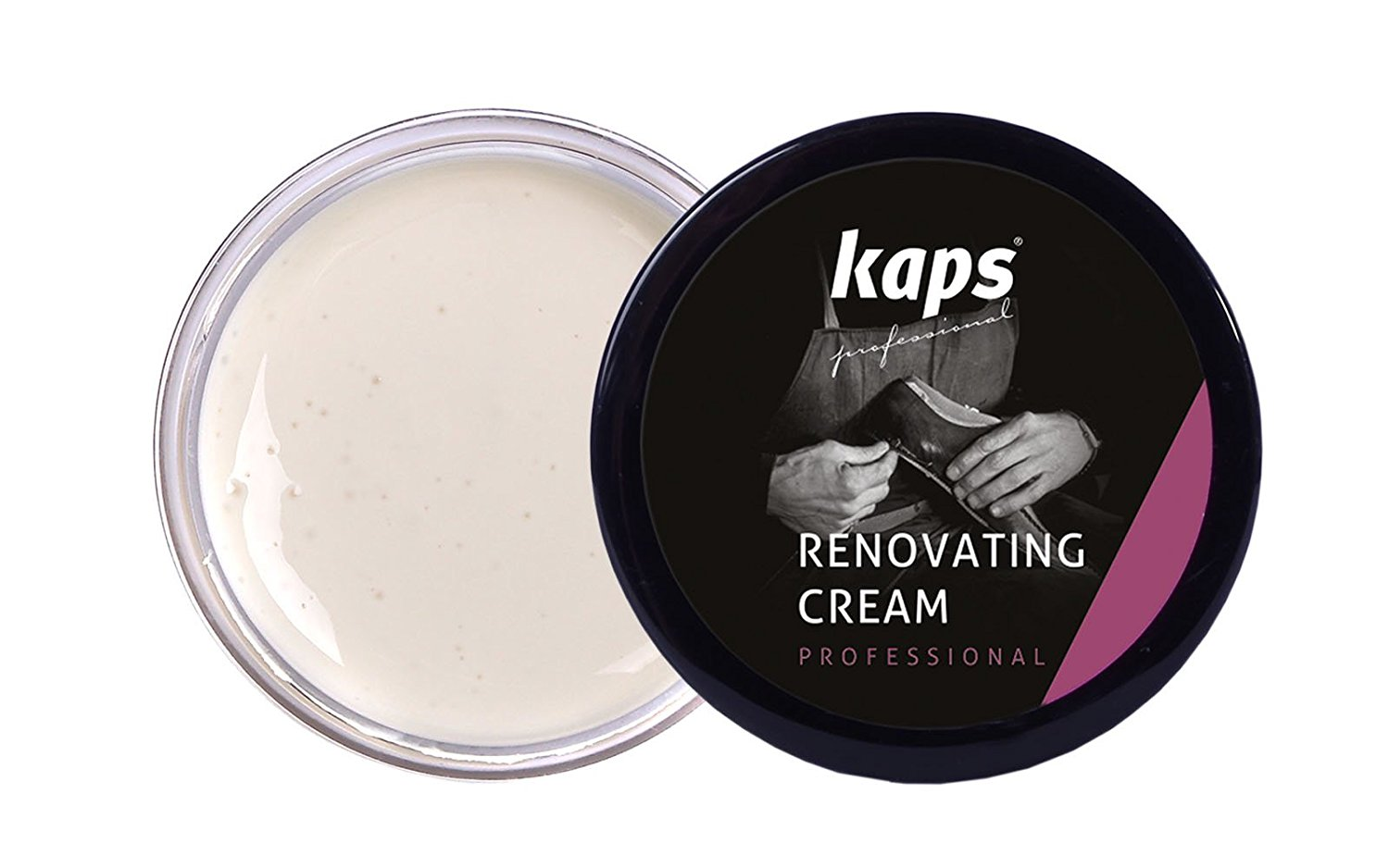 Восстанавливающий крем для обуви Kaps Renovating Cream25 ml