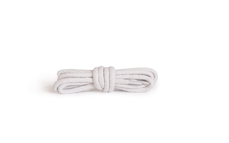 Шнурки для обуви Kaps круглые белые
