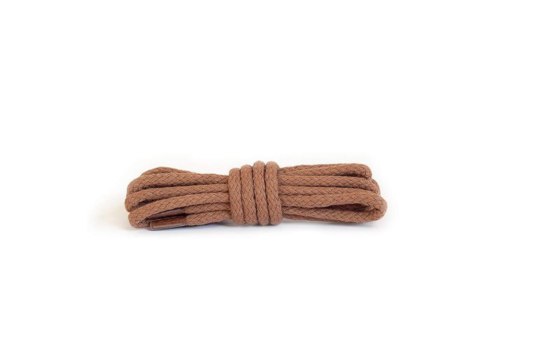Шнурки для обуви Kaps круглые цвет коньяк