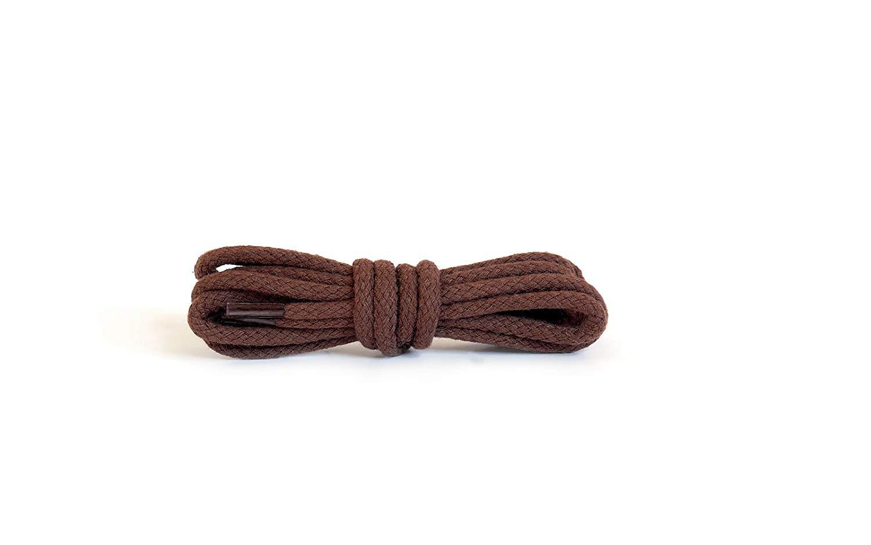 Шнурки для обуви Kaps круглые Коричневые