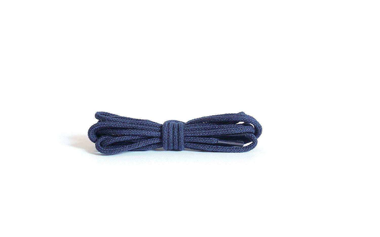 Шнурки для обуви Kaps тонкие, круглые синие
