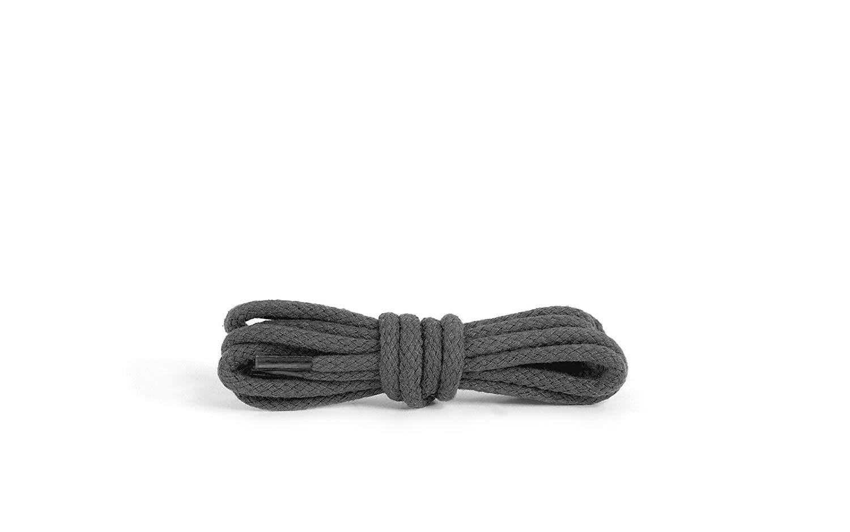 Шнурки для обуви Kaps круглые Темно Серые