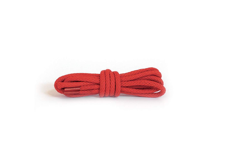 Шнурки для обуви Kaps круглые Крвсные