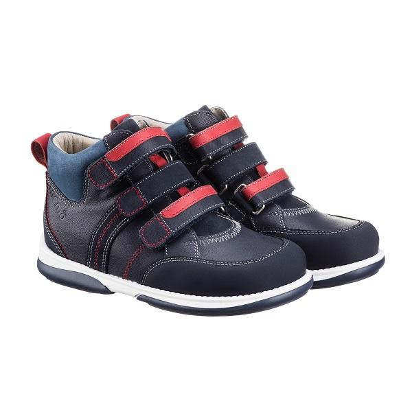 34d50aa5aa1f64 Купить Memo Polo 3DA Синие Ортопедические кроссовки для детей (р. 32-38)