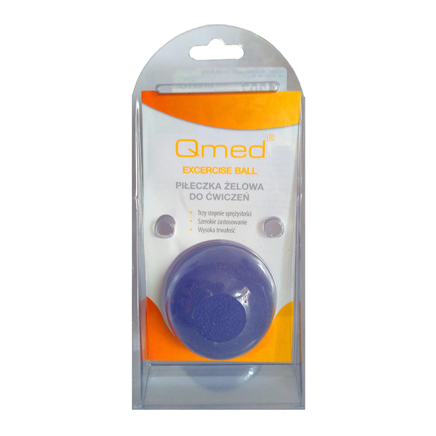 Qmed Gel Exercise Ball Гелевый мячик для упражнений, средней жесткости