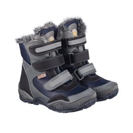 Ботинки ортопедические зимние Memo Colorado 3DA Синие р.22-34