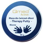 Qmed Therapy Putty Strong - Пластичная масса для реабилитации ладони, сильная