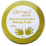 Qmed Therapy Putty Soft - Пластичная масса для реабилитации ладони, мягкая